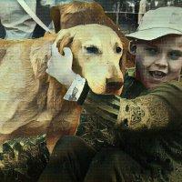 Мишенька и собака :: Михаил Филатов
