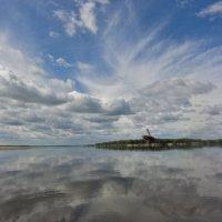 Печора, облака :: Ирина Опанчук