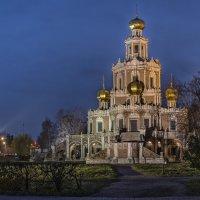 Церковь Покрова Пресвятой Богородицы в Филях (вечер) 1/2 :: Борис Гольдберг
