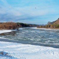 По реке идёт шуга :: Анатолий Иргл