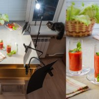 Обычно мы работаем втроём - фотограф и два ассистента, но иногда помогает супруга :: Анатолий Тимофеев