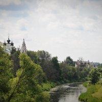 ...Тишина над рекой, а главное -утро-то какое свежее!!! :: Игорь Сорокин