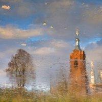 Зима в гостях у осени... :: Svetlana Sneg