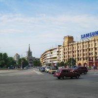 На вокзал. :: Евгений Голубев