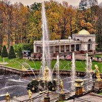 Петра Великого каприз весь соткан из фонтанных брызг. :: Марина Волкова