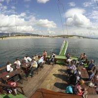 "Море,солнце,воздух и прогулка на ""Корсаре"" :: Alexey YakovLev"