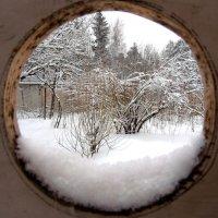 А там зима.. :: Елена Ом