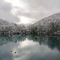 Утро на Голубых озёрах. :: Ирина Нафаня