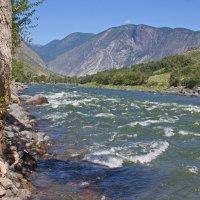 Изумрудные струи реки :: val-isaew2010 Валерий Исаев