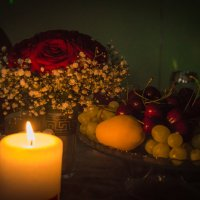 Свадебная свеча :: Александра Андрющенко