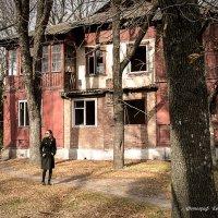 Заброшенные дома... :: Евгения Курицына