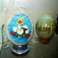Расписные страусиные яйца! :: Надежда