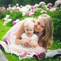 Машенька и ее малышка :: Виктория Праскова
