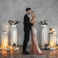 Свадебная фотосессия в студии :: Ярослава Бакуняева