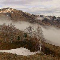 В горах, где танцуют туманы 3 :: Сергей Жуков