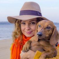 Дама с собачкой :: Евгений Колотилин