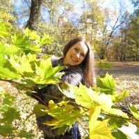Солнечные осенние прогулки :: Оксана Кошелева