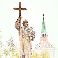 Памятник Владимиру крестителю в Москве :: Анастасия Смирнова