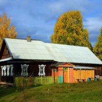 домик в деревне :: Андрей Куракин.