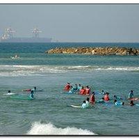 Школьный урок на море. :: Leonid Korenfeld