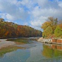 Закружила осень листопадами, заблистала хрупкой красотой...... :: Galina Dzubina