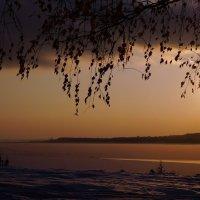 Озеро вечером :: ида Слизких