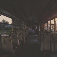 Night tram :: Alexandr Sokolov