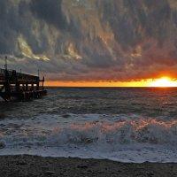 Набегают волны с облаками :: Владимир Сковородников