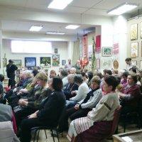 Закрытие выставки 3 ноября 2016 в Краеведческом музее г. Люберцы. :: Ольга Кривых