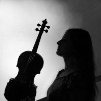 скрипичный силуэт :: Тарас Золотько