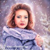 худ.обработка -зима пришла :: Zhanna Abramova