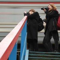 На мосту :: Наталья Тырданова