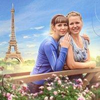 Прогулка по Парижу :: Дарья Суркина