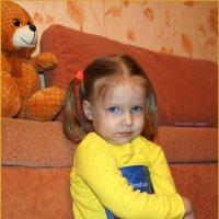 Девочка с книжкой. :: Anatol Livtsov
