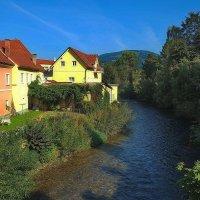 Утро Австрийской деревни :: M Marikfoto