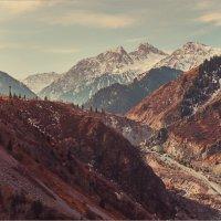 Наши горы(имитация пленки) :: Val Савин