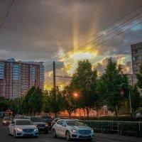 №1830 #sonnenuntergang ул.Ставрапольская, Краснодар :: Katerina Kharden