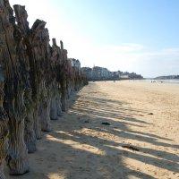 Пляжи Сен-Мало в октябре :: Сергей К