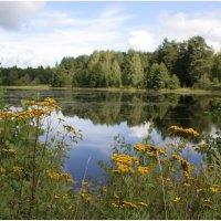 Заснувшее озеро :: Флоуффлурр Рроуфф-Ниирсс
