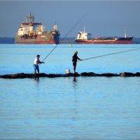 Рыбалка на рассвете. :: Natali
