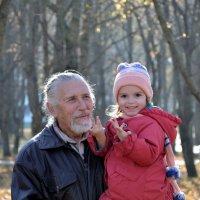 на прогулке с дедушкой :: Мария Климова