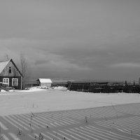 домик за забором :: Сергей Шаврин