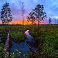 Сумерки над рекой :: Фёдор. Лашков