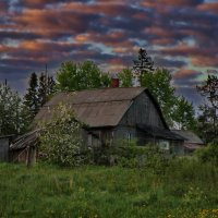Белые ночи в Леппясюрье. :: Владимир Ильич Батарин