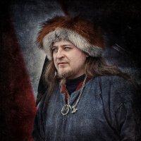 Портрет - древнерусский дружинник :: Roman Sergeev