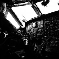 Пилот Ан-12 :: Ася Зайцева