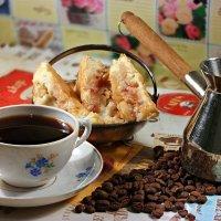 Кофе должен быть черным как ночь, сладким как грех, горячим как любовь и крепким как проклятье! :: Андрей Заломленков