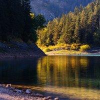 Черное озеро в Жабляке (Черногория) :: Vitalij P