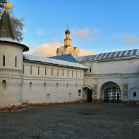 Спасо-Андроников монастырь. :: Александр Теленков