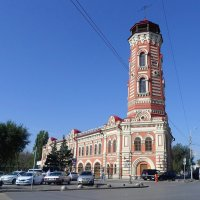 Пожарная каланча (Волгоград) :: Елена Павлова (Смолова)